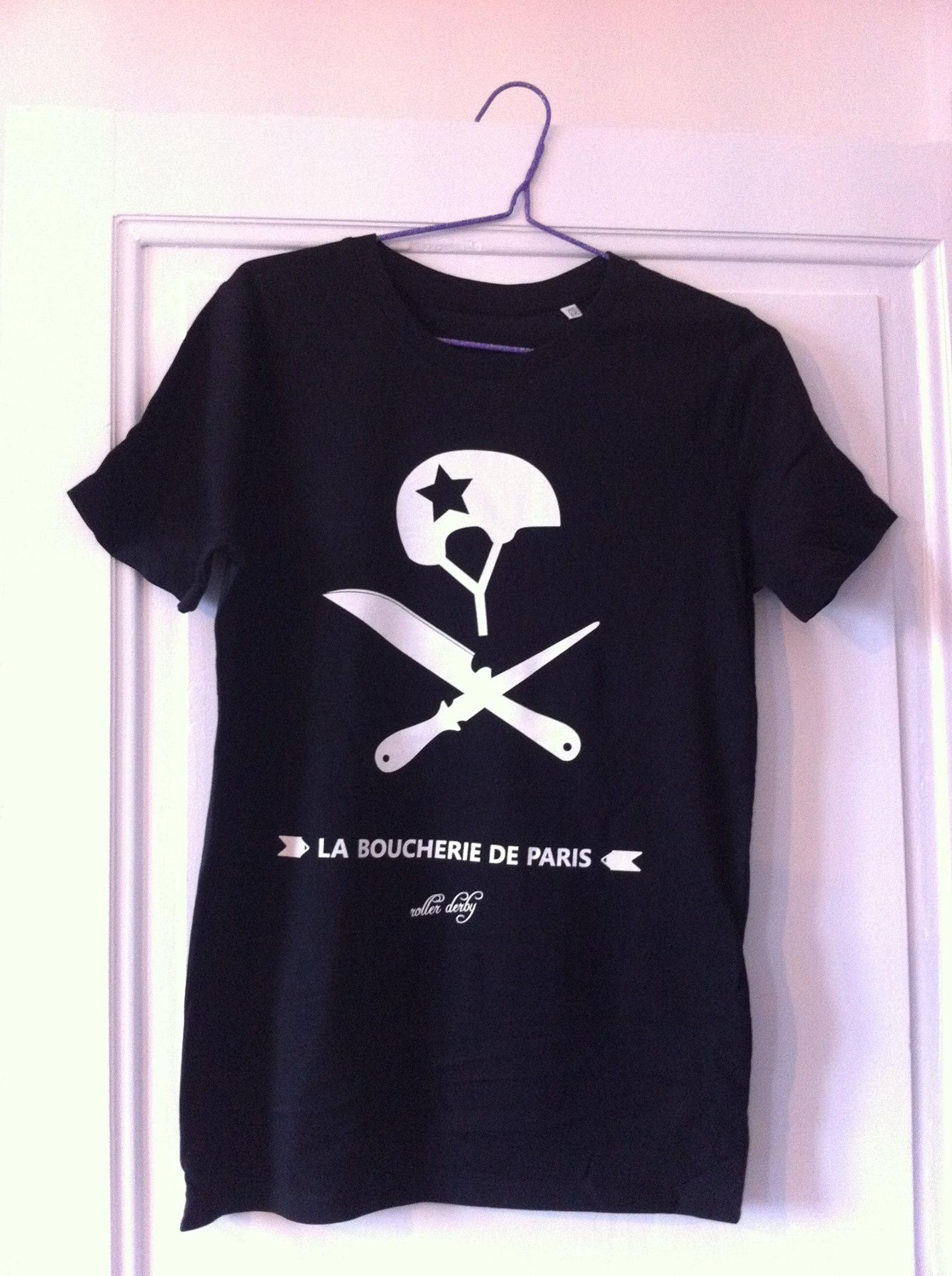T-Shirt Noir Boucherie 15€