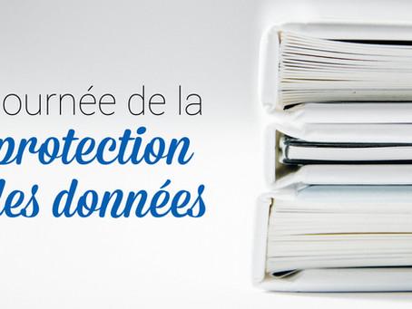 Aujourd'hui c'est la journée nationale de la protection des données.
