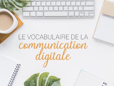 Le vocabulaire de la communication digitale