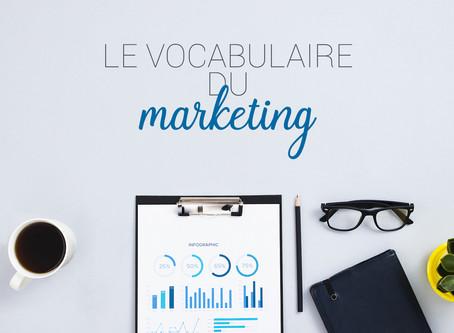 Le vocabulaire du marketing