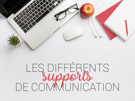 Les différents supports de communication