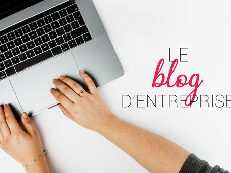 Un blog d'entreprise