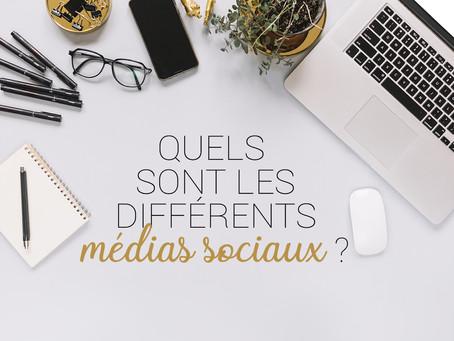 Quels sont les différents médias sociaux ?