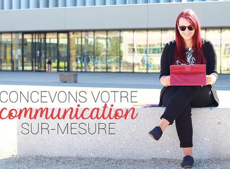 Concevons votre communication sur-mesure