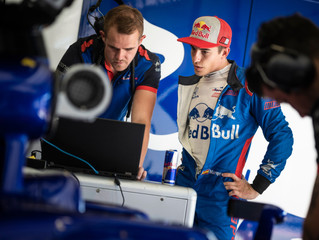 MotoGP Marc Marquez tests F1 car