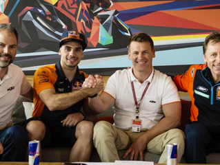 Oliveira in MotoGP with KTM Tech 3