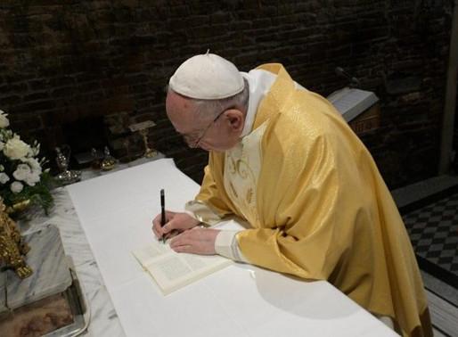 """Christus vivit"" - l'esortazione di papa Francesco"