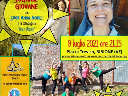 SOGNARE GIOVANE - Incontro con Suor Anna Nobili e la HolyDance