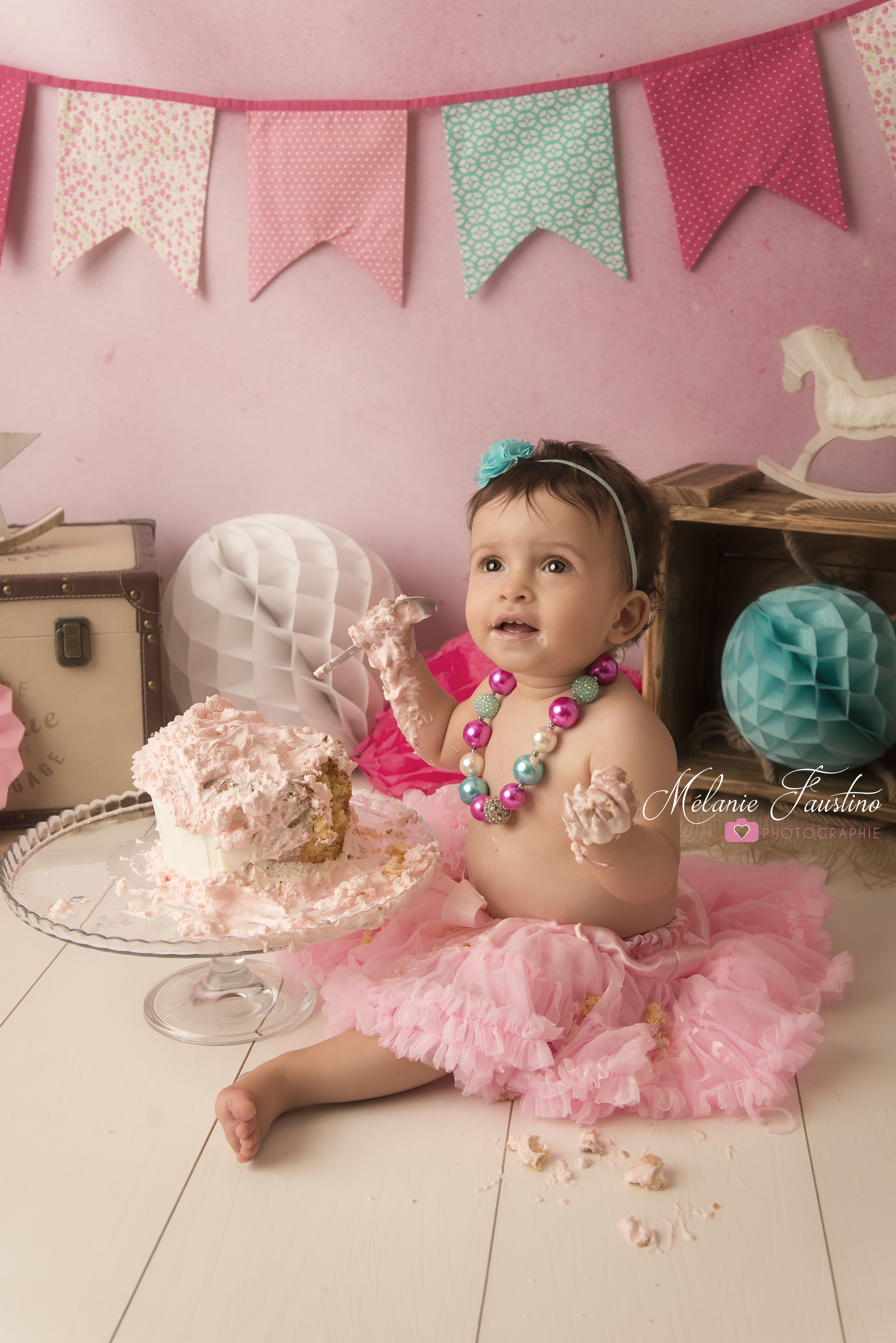 photo bébé gâteau anniversaire 94 75