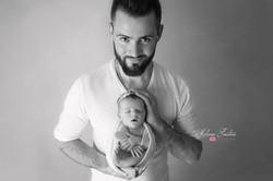 photo papa bébé naissance paris 94