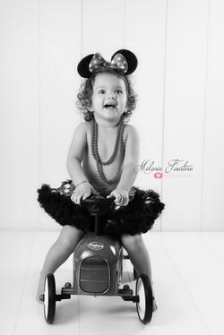 minnie bébé, enfant, photographe
