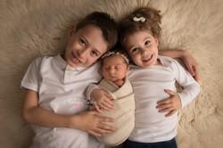 photo frère soeur naissance bébé 94