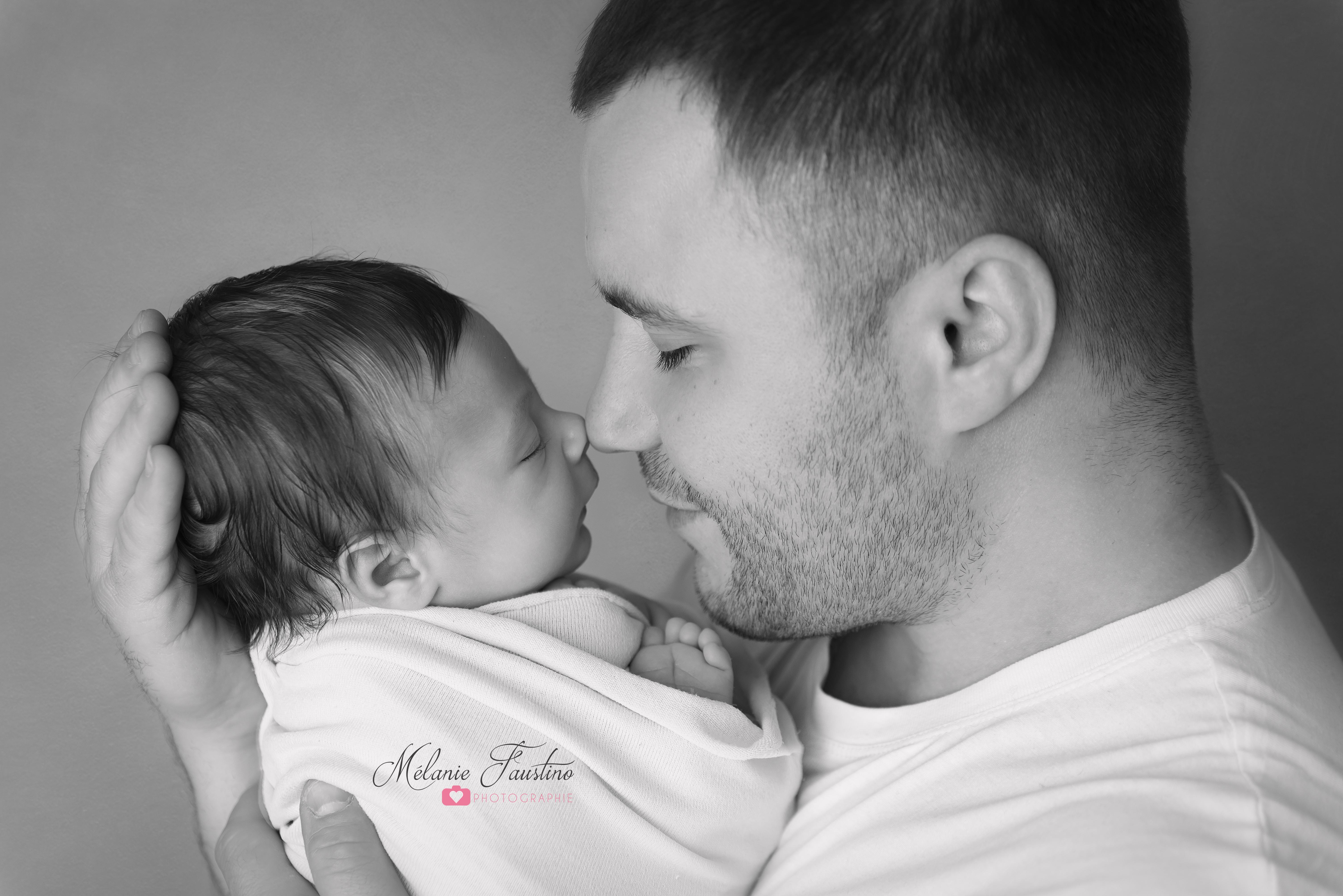 photo papa bébé ile de france 94