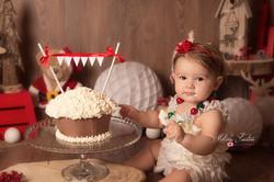 photo smash the cake bébé paris 77
