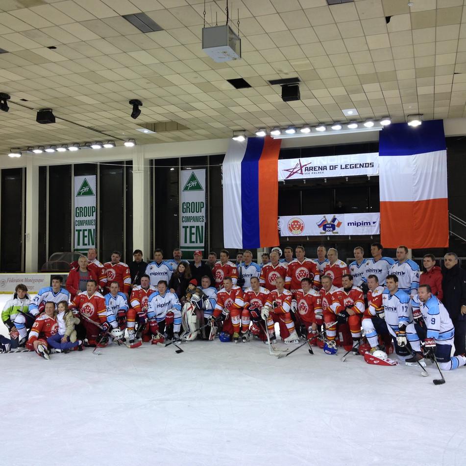 MIPIM 2013, Hockey Legends tournament