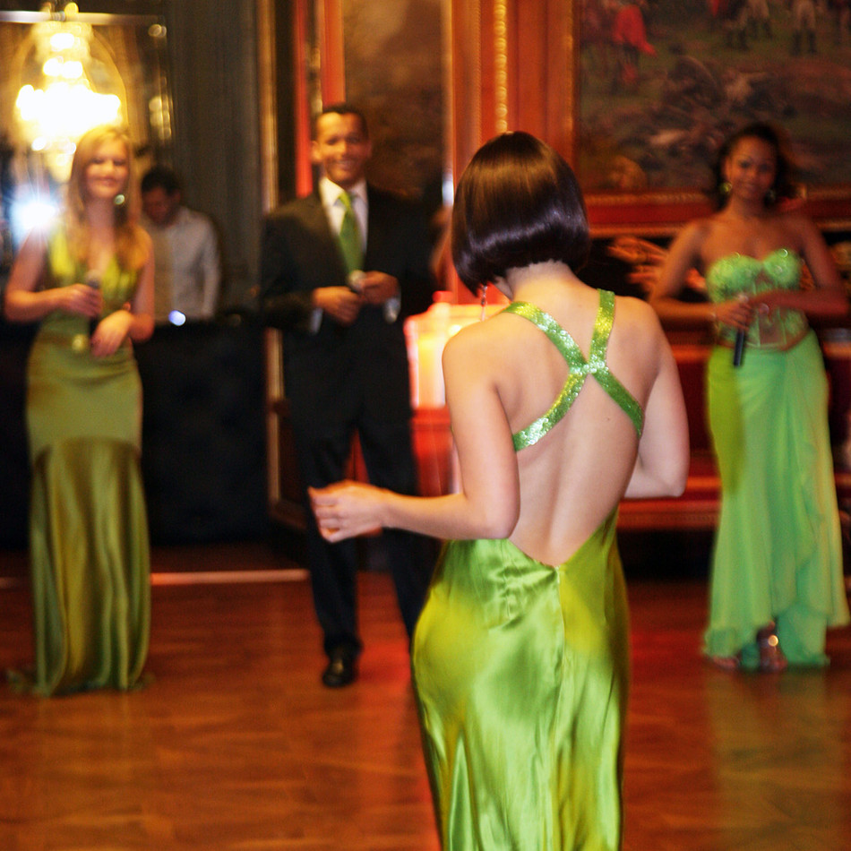 Animation of the Russian evening at the Palais Massena (Nice), MIPIM 2010