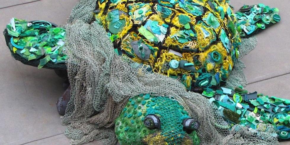 Trash Treasure Art Contest- Traditional Art