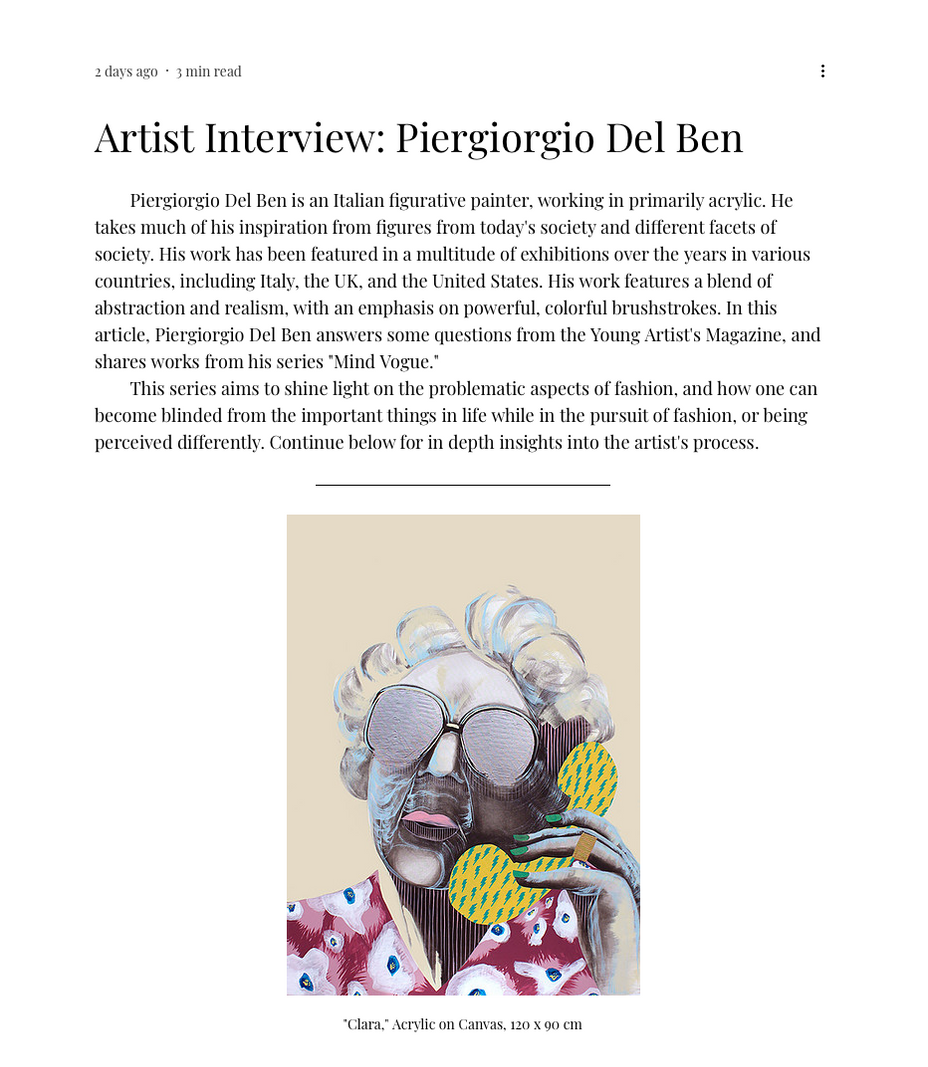 ARTIST INTERVIEW