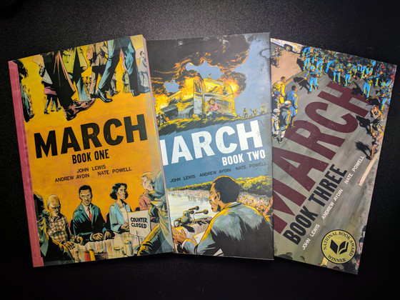 Media Club: July - The March Trilogy