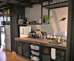 Kitchen with all basic essentials.