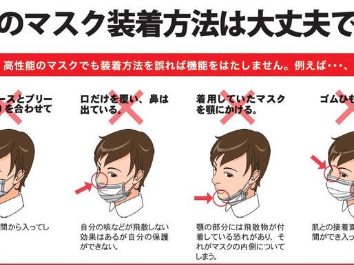 新型コロナウィルス感染対策について