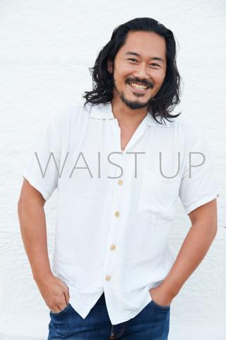 waist up