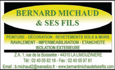 Bernard Michaud et ses fils