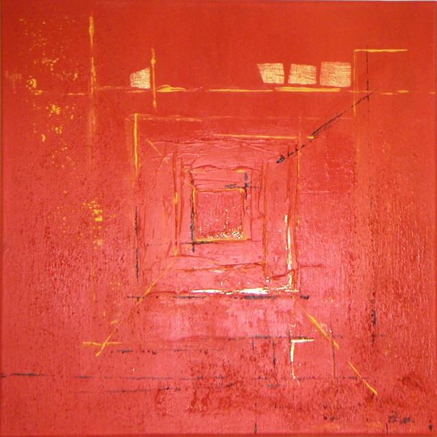 Quadrat in rot