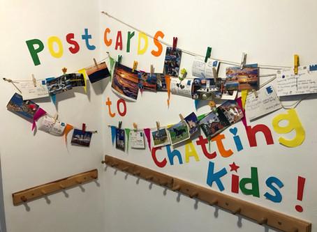 A postcard to Chatting Kids - konkursowa galeria