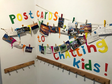 A postcard to Chatting Kids - konkursowa galeria