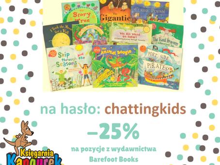 Rabat na książki i gry do nauki angielskiego!