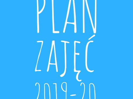 Plan zajęć 2019/20