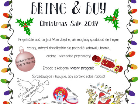 Kiermasz Bring&Buy 2019!