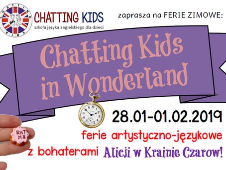 FERIE 2019 - Chatting Kids in Wonderland