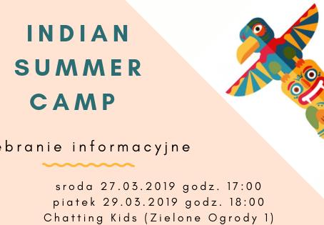 Zebranie przed-obozowe INDIAN SUMMER 2019