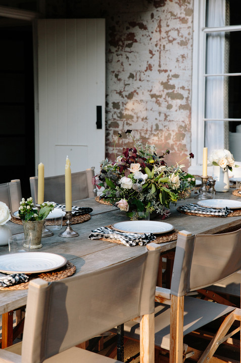 Ojai, Ca Fall flowers and outdoor Holiday entertaining by Lilly Walton Design