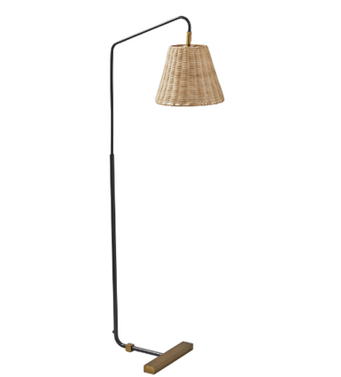 Woven Floor Lamp