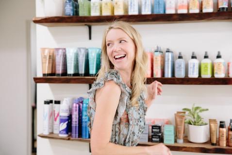 Ojai Hair Salon Boheme by Interior Designer Lilly Walton Design