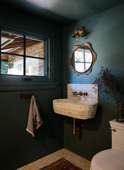 California casual living room by Ojai, CA interior design studio Lilly Walton Design