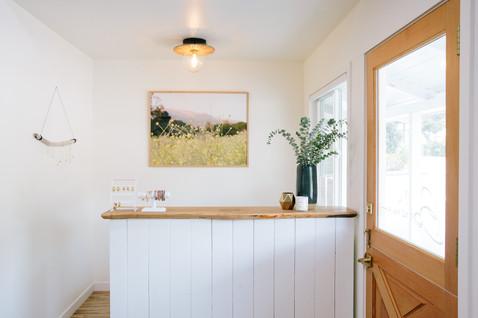 Ojai, CA hair salon Boheme by interior designer, Lilly Walton Design