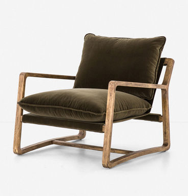 Krista Chair, Olive Green