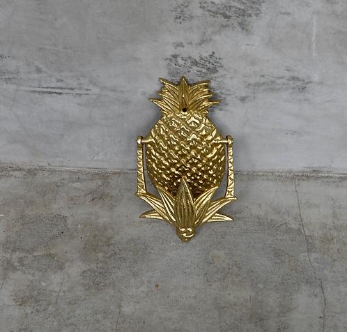 Pineapple Door Knocker Gold