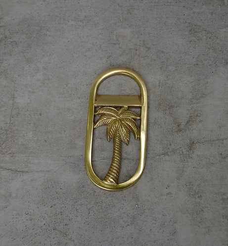 Palm Tree Bottle Opener Gold