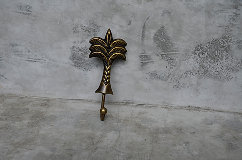 Palm Tree hanger - small bronze