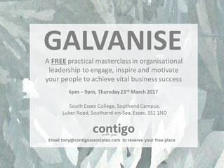 WANT TO KNOW HOW TO GALVANISE YOUR ORGANISATION?