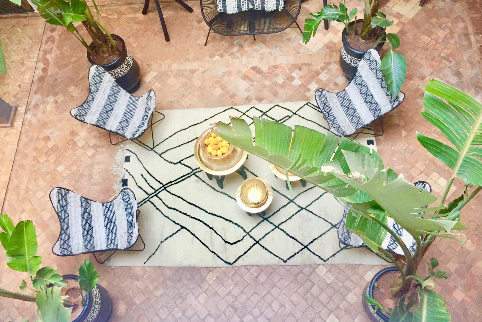 Patio Riad Chafia Marrakech boutique hotel riad marrakesh morocco