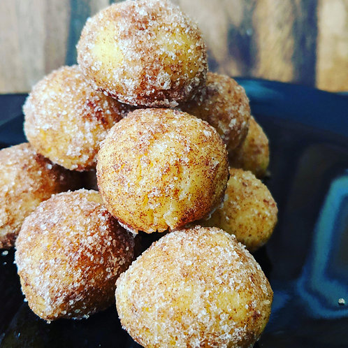 "Cinnamon ""Sugar"" Donut Holes"