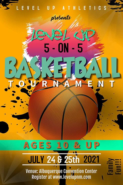 Copy of Basketball Tournament poster no