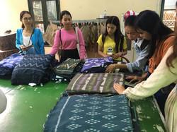 Fabric Sourcing at Watthan Artisans