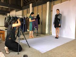 Look-book shooting for Bazaar Berlin